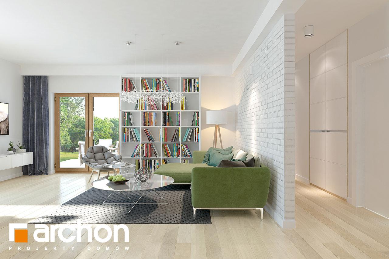 Проект будинку ARCHON+ Будинок в андромедах 2 (Г2) денна зона (візуалізація 1 від 4)