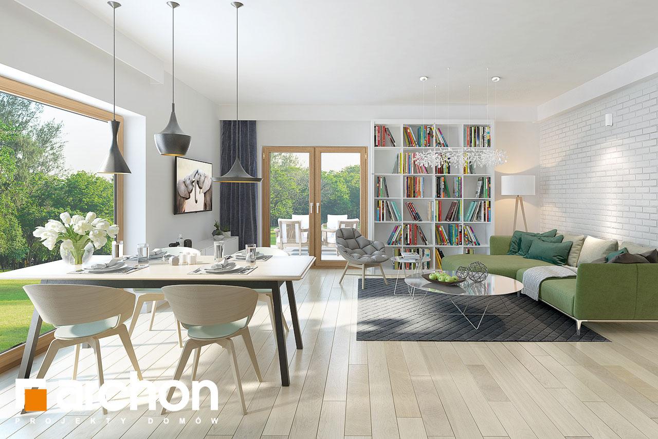 Проект дома ARCHON+ Дом в андромедах 2 (Г2) дневная зона (визуализация 1 вид 1)