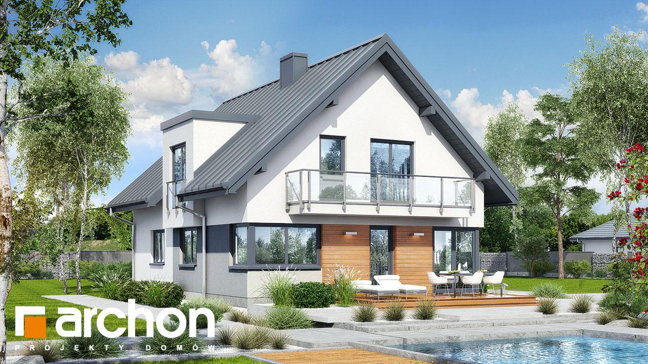 Проект будинку ARCHON+ Будинок в амарилісах 8 Вид 2