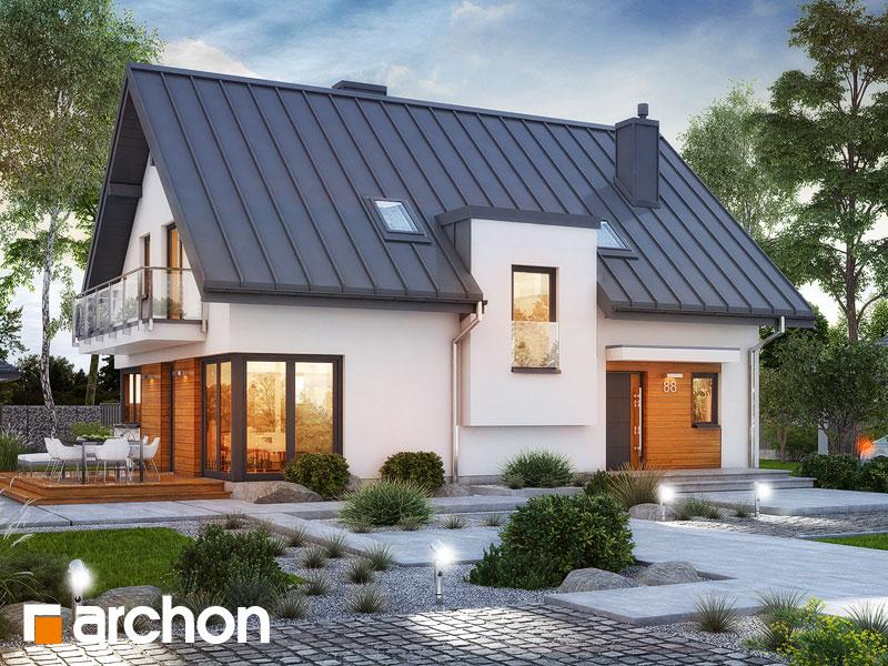 Проект будинку ARCHON+ Будинок в амарилісах 8 Вид 1