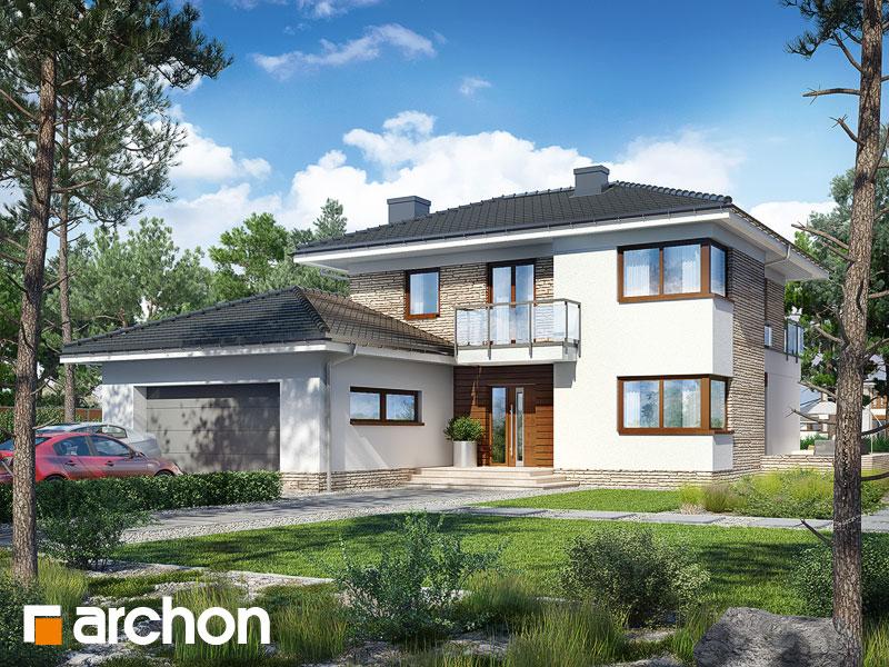 Проект дома ARCHON+ Вилла Эмилия Вид 1