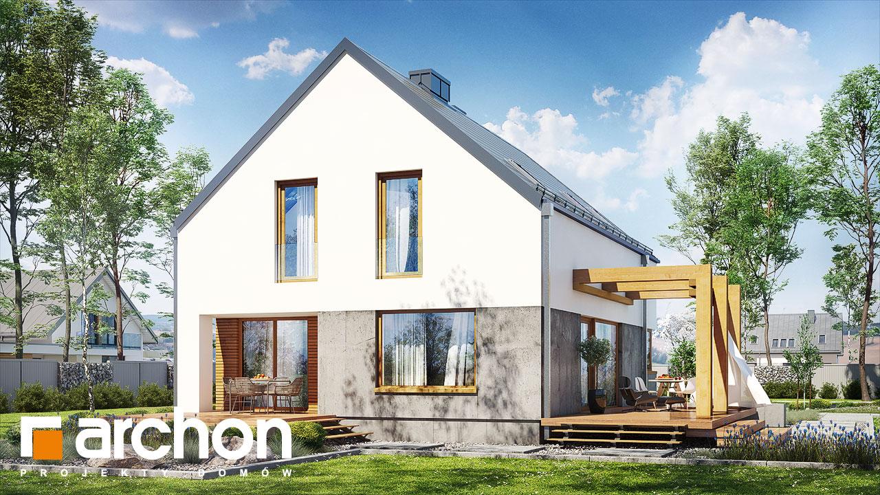 Проект будинку ARCHON+ Будинок під лукумою додаткова візуалізація