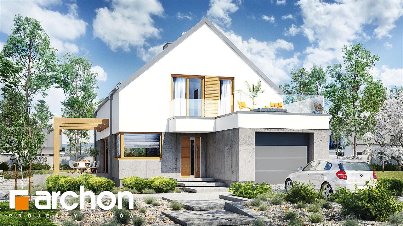 Проект будинку ARCHON+ Будинок під лукумою Вид 2