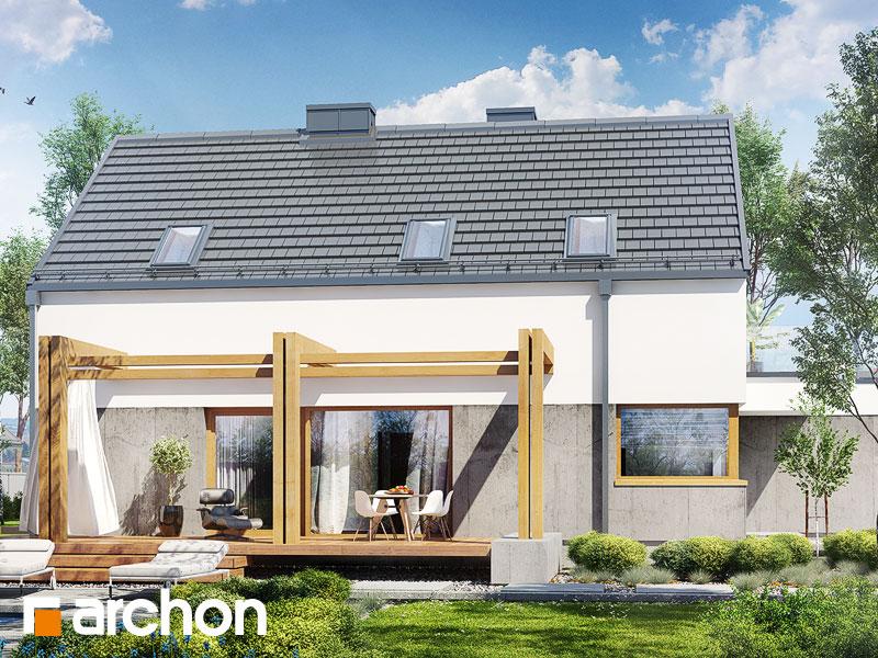 Проект будинку ARCHON+ Будинок під лукумою Вид 1