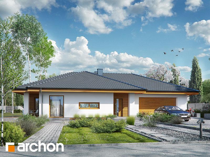 Проект будинку ARCHON+ Будинок в амарантах 6 (Г2) Вид 1