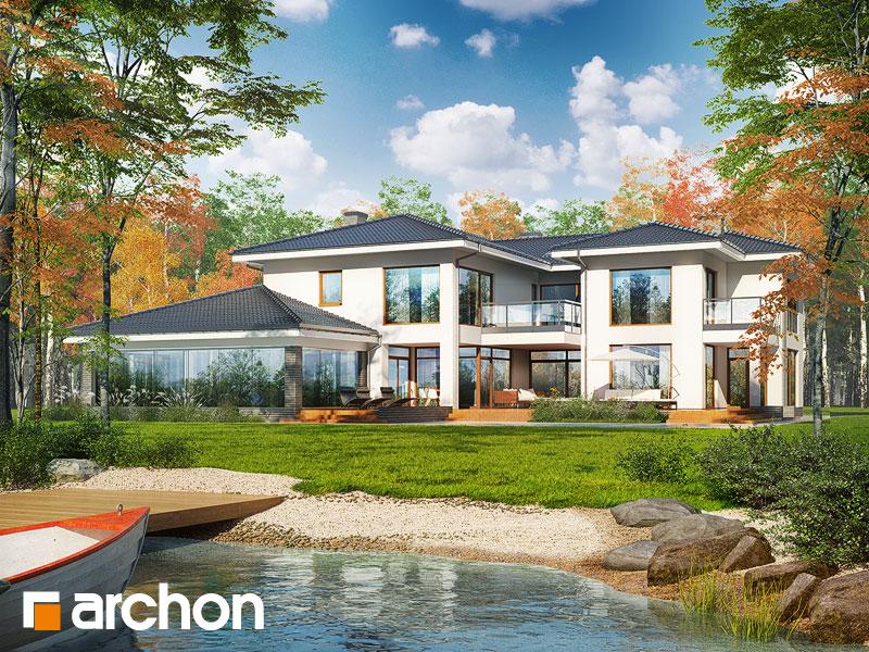 Проект дома ARCHON+ Вилла Эрика Вид 1
