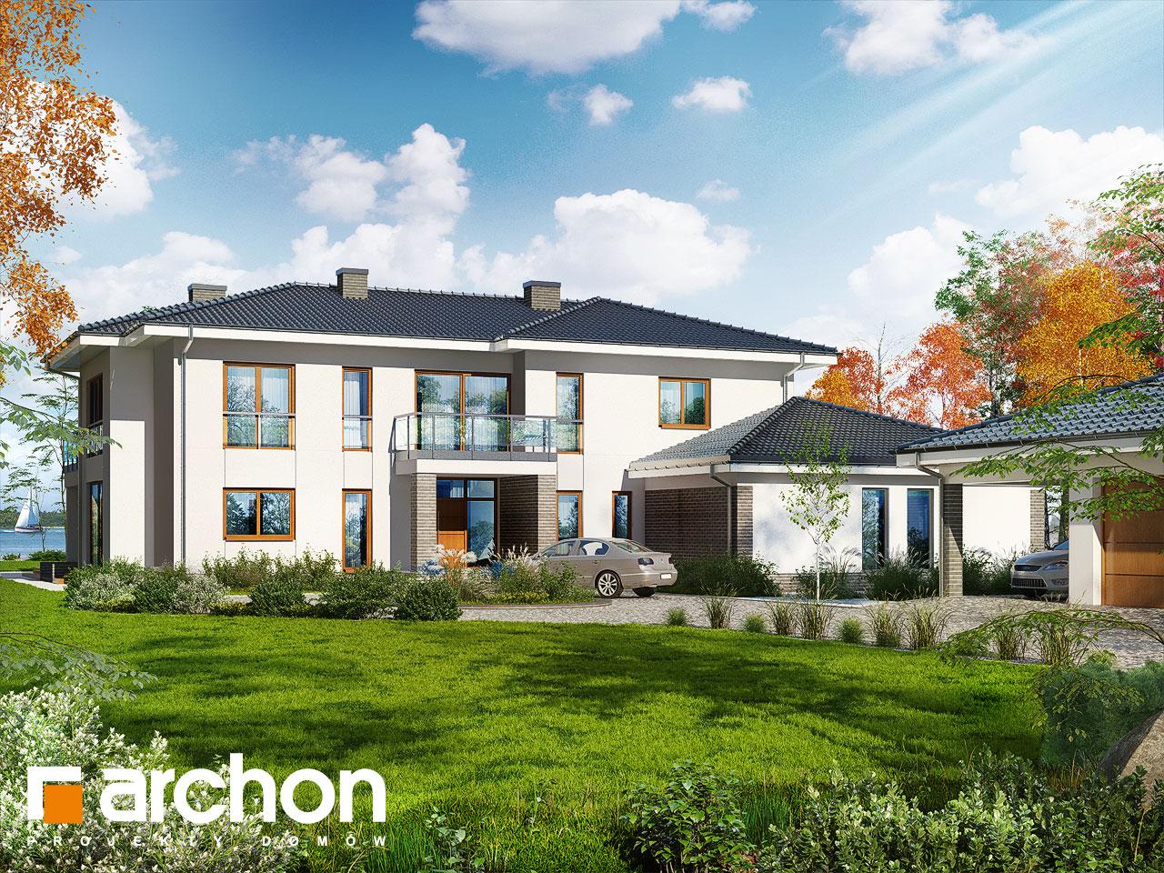 Проект будинку ARCHON+ Вілла Еріка Вид 2