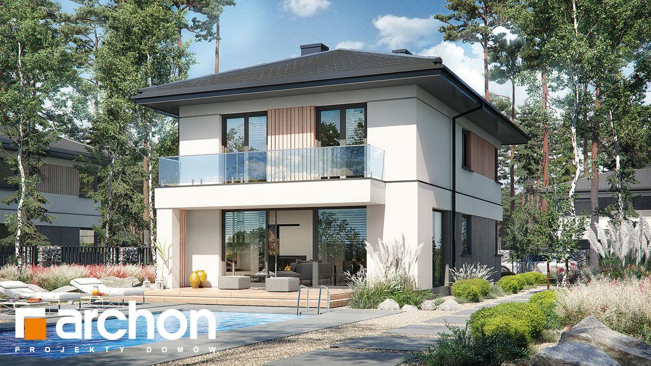 Проект будинку ARCHON+ Вілла Юлія 16