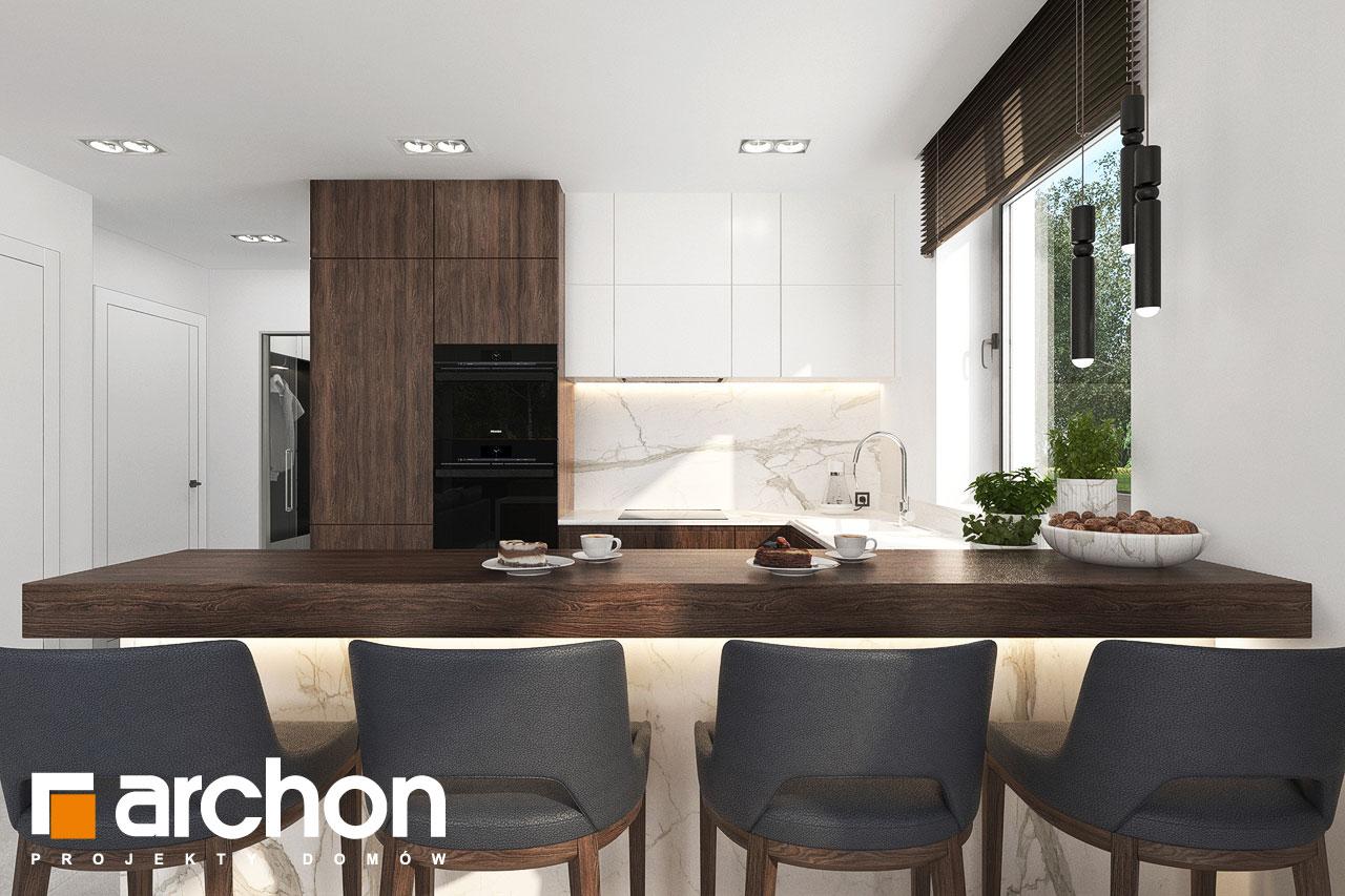 Проект будинку ARCHON+ Вілла Юлія 16 візуалізація кухні 1 від 1