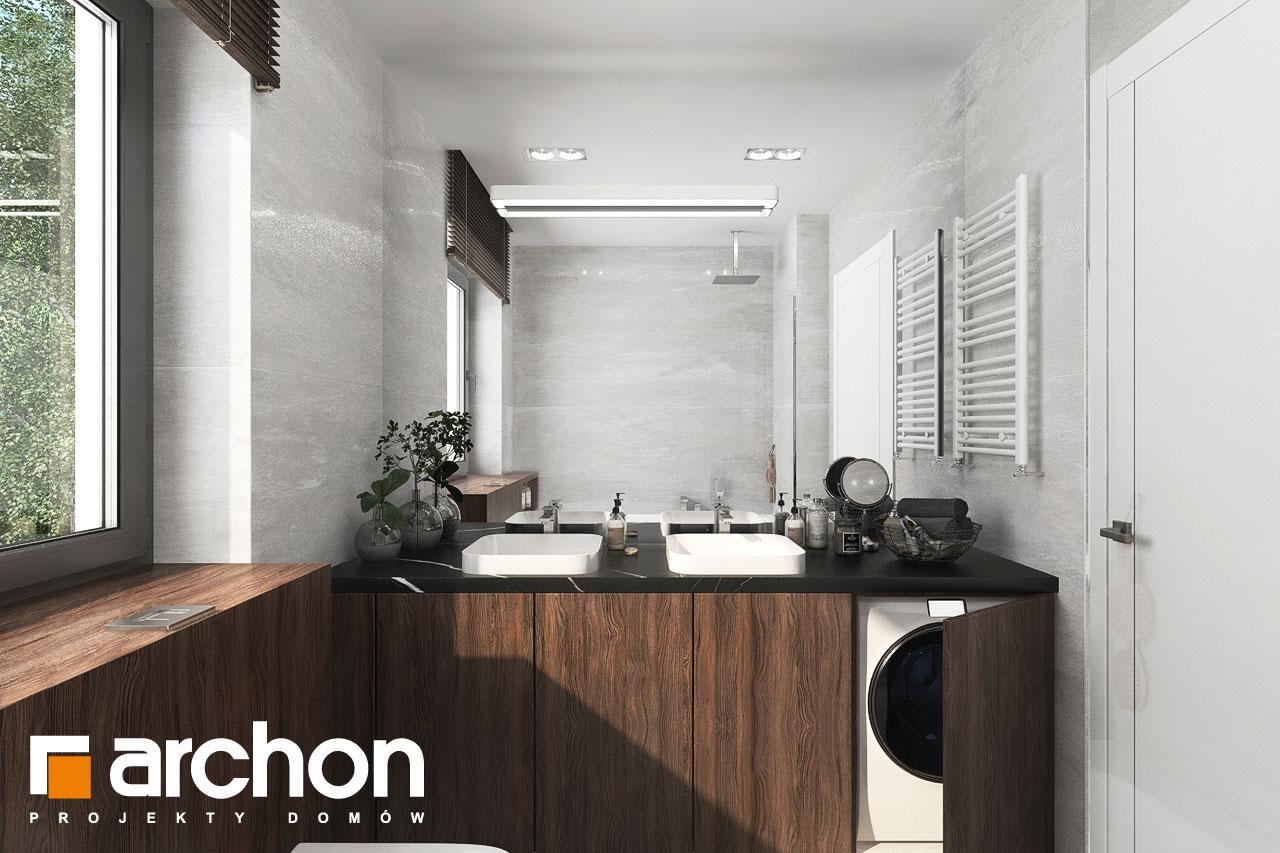 Проект будинку ARCHON+ Вілла Юлія 16 візуалізація ванни (візуалізація 3 від 1)