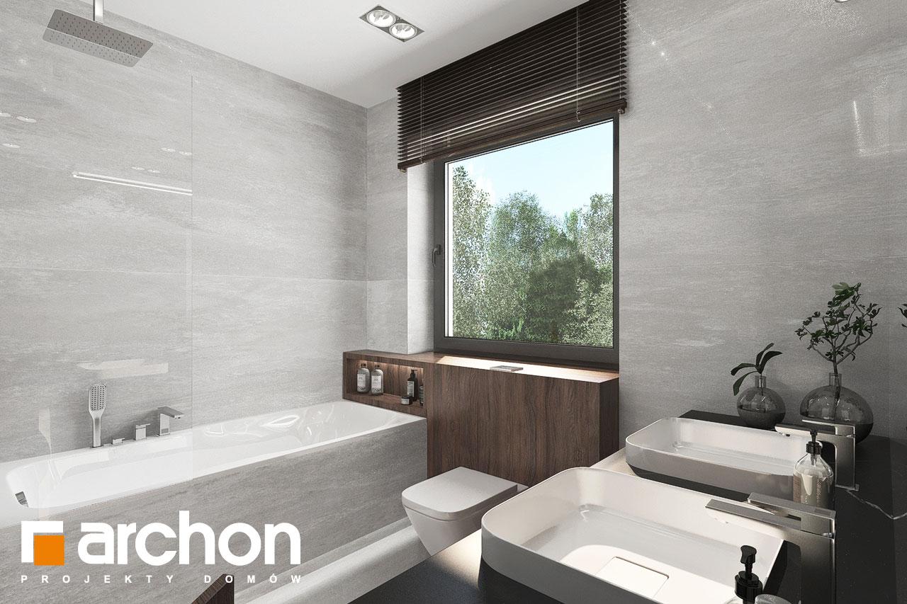 Проект будинку ARCHON+ Вілла Юлія 16 візуалізація ванни (візуалізація 3 від 2)