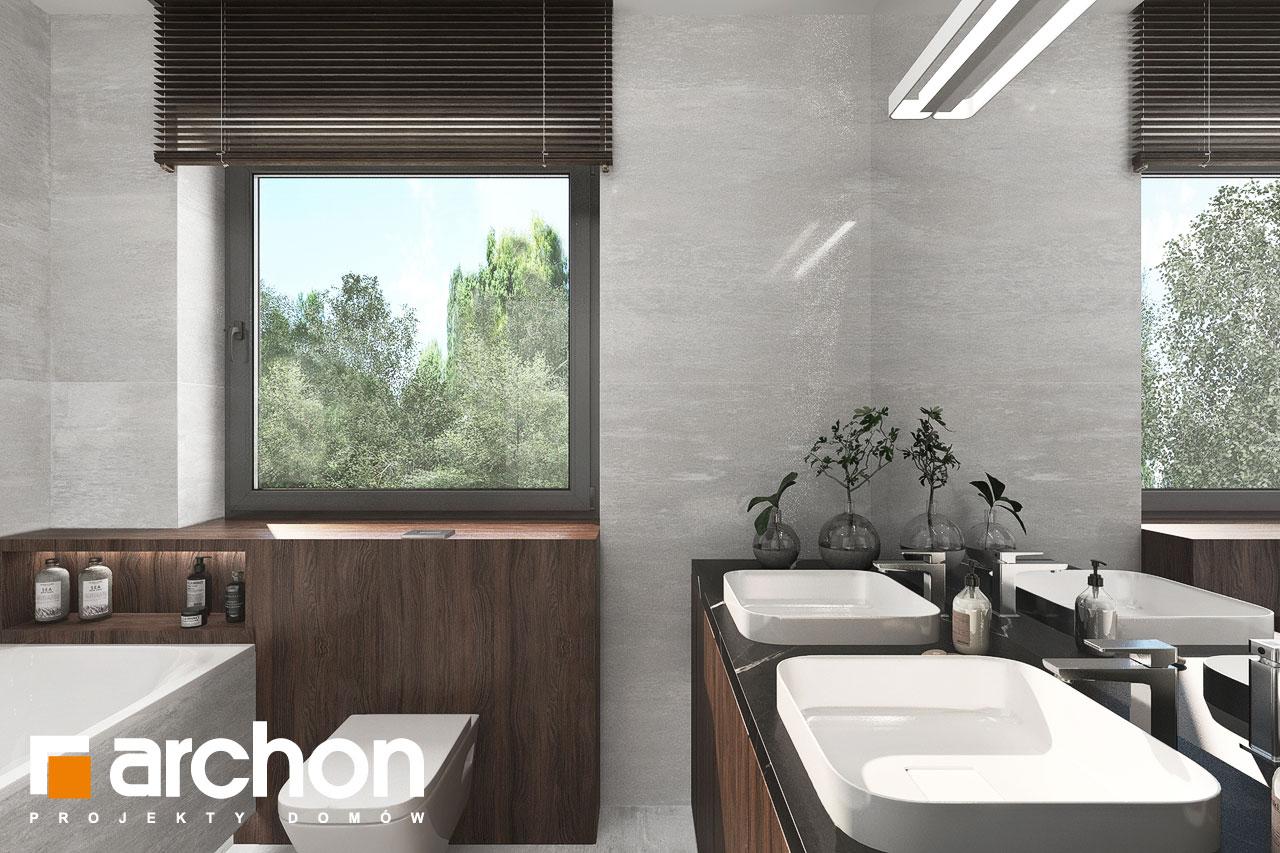 Проект будинку ARCHON+ Вілла Юлія 16 візуалізація ванни (візуалізація 3 від 3)