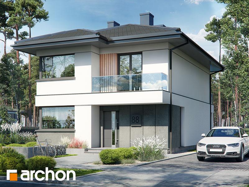 Проект будинку ARCHON+ Вілла Юлія 16 Вид 1