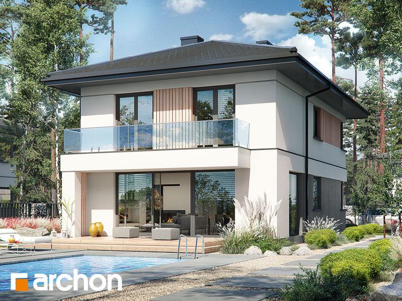 Проект будинку ARCHON+ Вілла Юлія 16 Вид 2