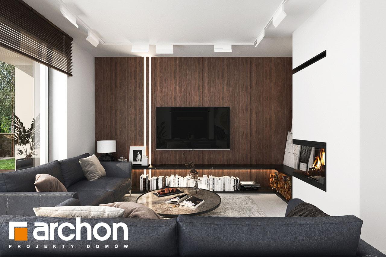 Проект будинку ARCHON+ Вілла Юлія 16 денна зона (візуалізація 1 від 2)