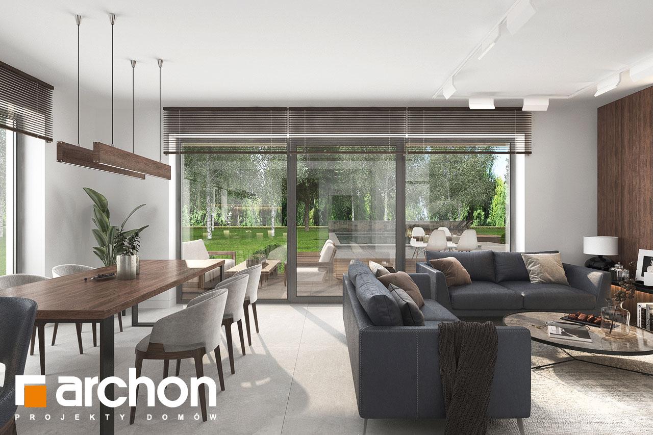 Проект будинку ARCHON+ Вілла Юлія 16 денна зона (візуалізація 1 від 3)