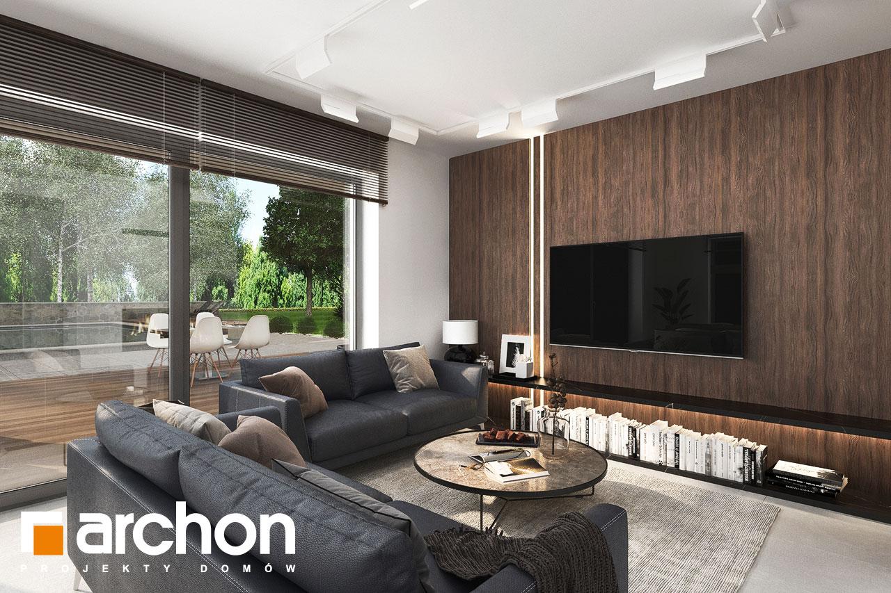Проект будинку ARCHON+ Вілла Юлія 16 денна зона (візуалізація 1 від 4)