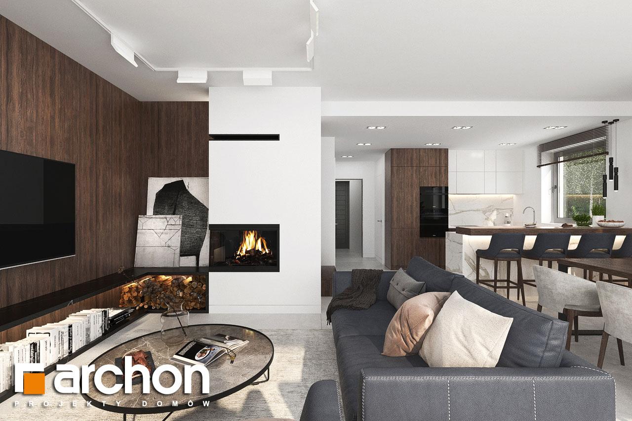 Проект будинку ARCHON+ Вілла Юлія 16 денна зона (візуалізація 1 від 6)