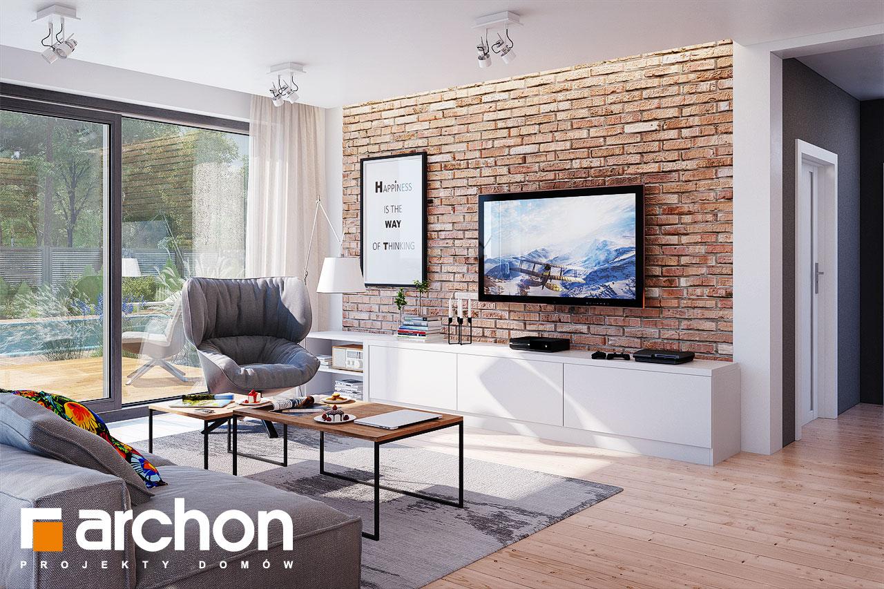 Проект будинку ARCHON+ Будинок в сливах (Г) денна зона (візуалізація 1 від 1)