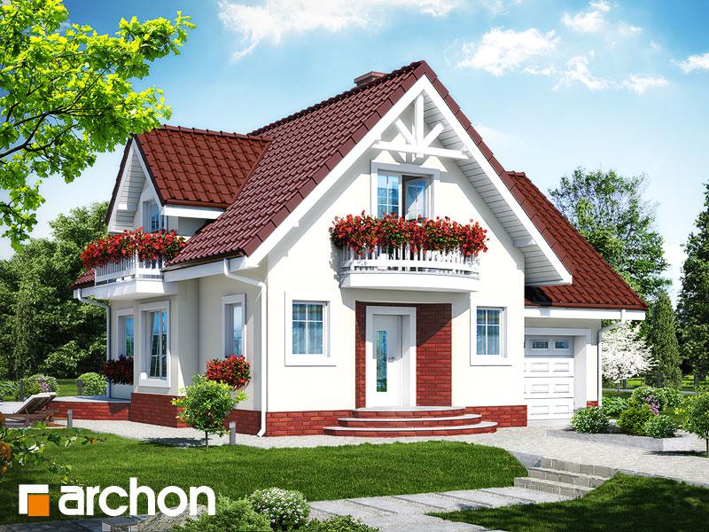 Проект будинку ARCHON+ Будинок в антонівці (Г) вер.2 Вид 1