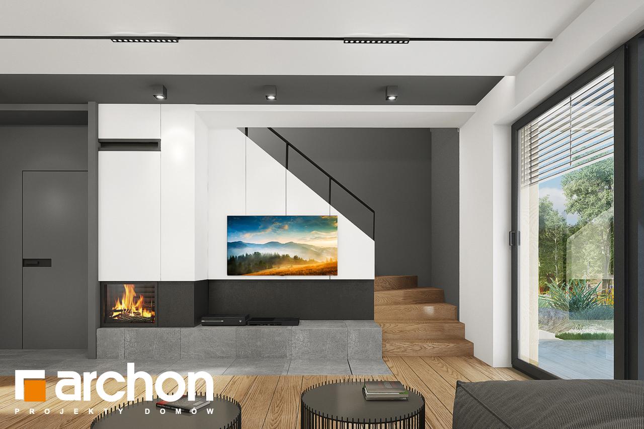 Проект будинку ARCHON+ Будинок в брусниці 5 денна зона (візуалізація 1 від 1)