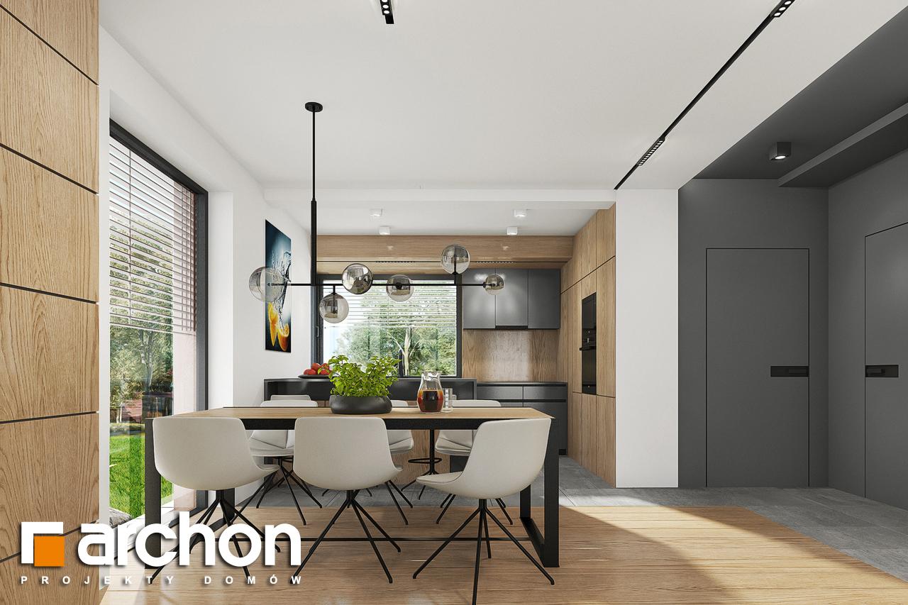 Проект будинку ARCHON+ Будинок в брусниці 5 денна зона (візуалізація 1 від 4)