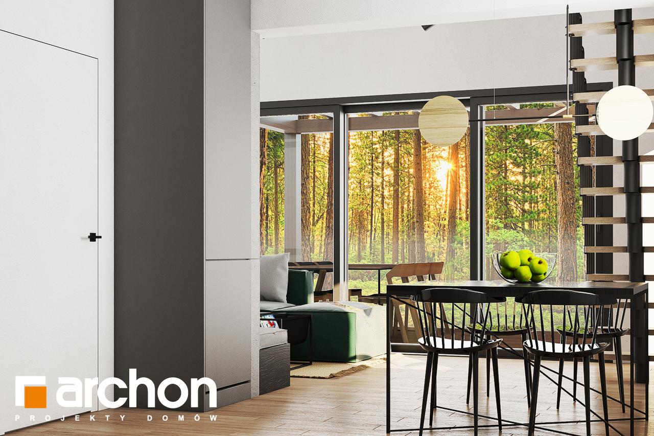 Проект будинку ARCHON+ Літній будинок в крокусах 4 (А) денна зона (візуалізація 1 від 5)