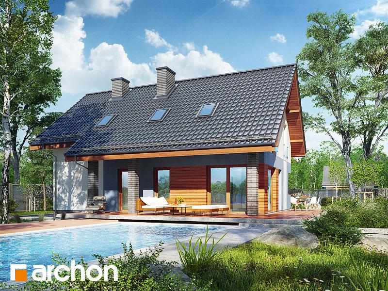 Проект будинку ARCHON+ Будинок в журавках 5 додаткова візуалізація