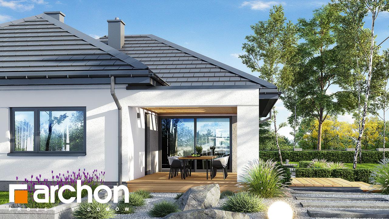 Проект будинку ARCHON+ Будинок в ренклодах 6 (Г2) додаткова візуалізація