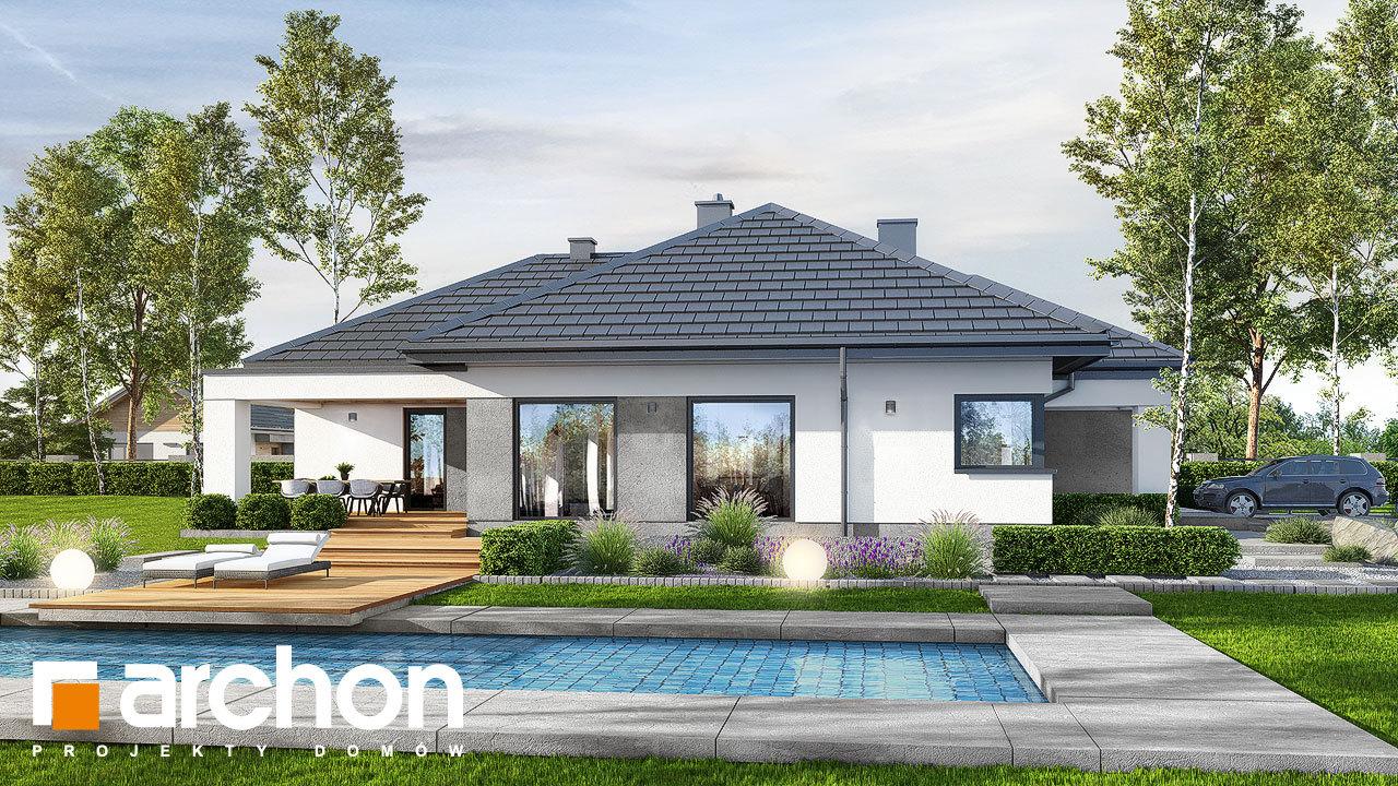 Проект будинку ARCHON+ Будинок в ренклодах 6 (Г2)