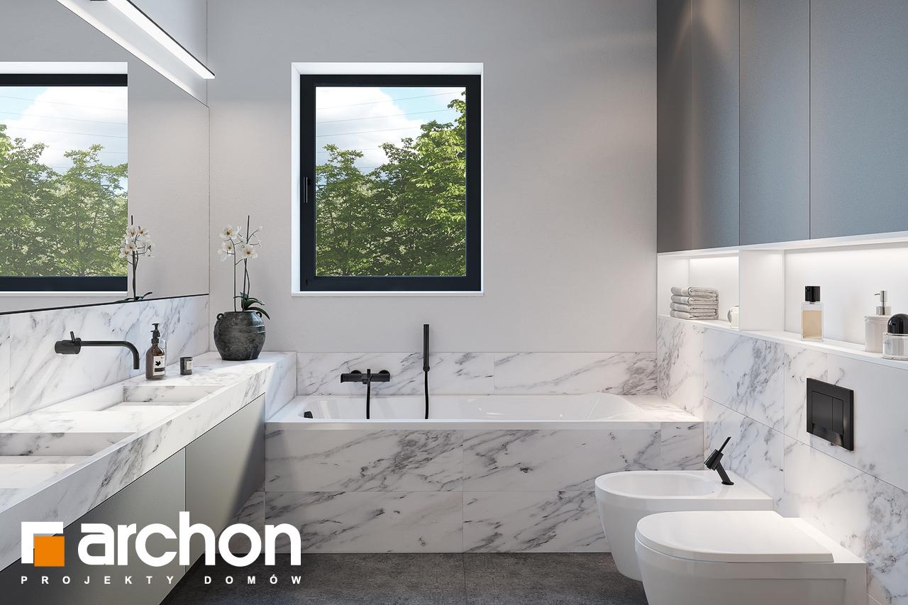 Проект будинку ARCHON+ Будинок в ренклодах 6 (Г2) візуалізація ванни (візуалізація 3 від 1)