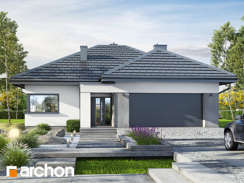 Проект будинку ARCHON+ Будинок в ренклодах 6 (Г2) Вид 1