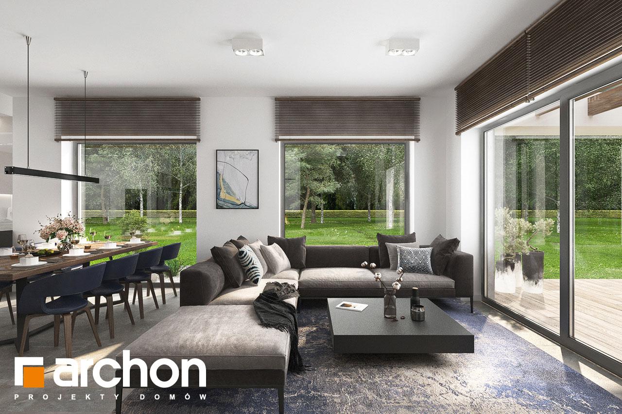 Проект будинку ARCHON+ Будинок в ренклодах 6 (Г2) денна зона (візуалізація 1 від 3)