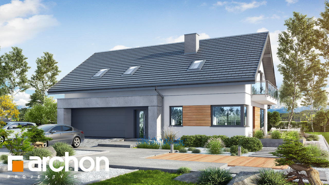 Проект будинку ARCHON+ Будинок в аурорах 7 (Г2)
