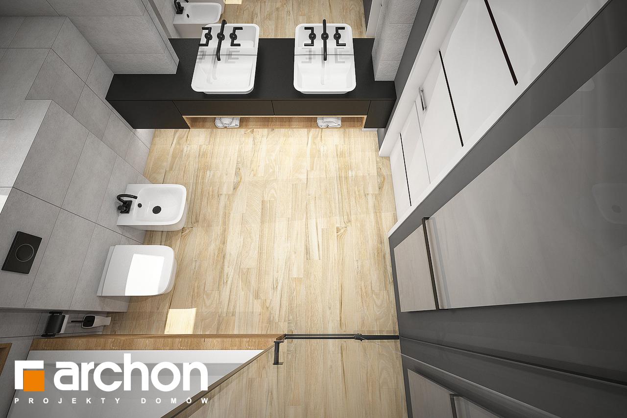Проект будинку ARCHON+ Будинок в аурорах 7 (Г2) візуалізація ванни (візуалізація 3 від 4)