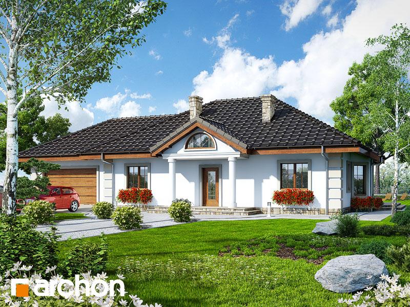 Проект будинку ARCHON+ Будинок під червоною горобиною (Г2) вер.2 Вид 1