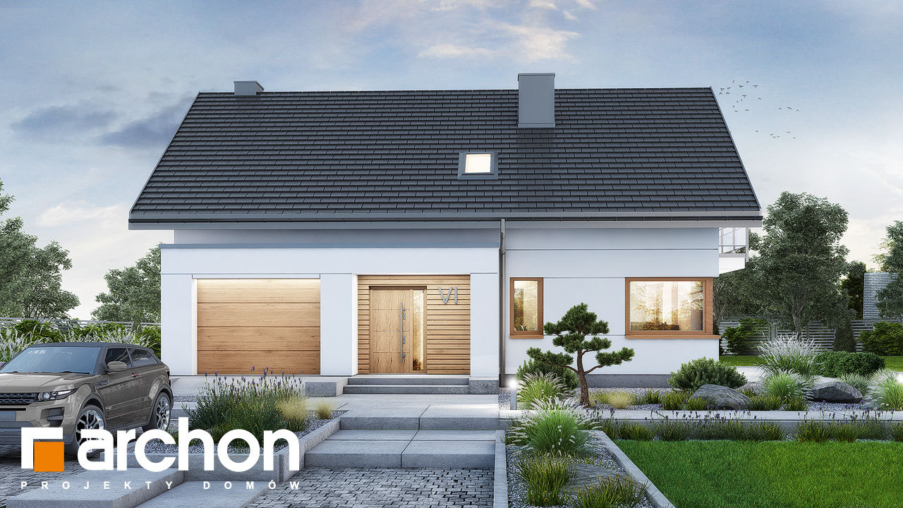Проект будинку ARCHON+ Будинок в аурорах 15 (Г)