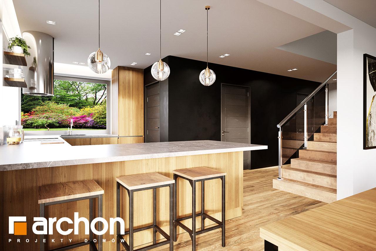 Проект будинку ARCHON+ Будинок в аурорах 15 (Г) візуалізація кухні 1 від 4