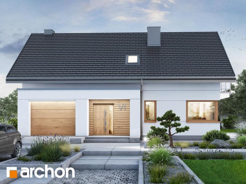 Проект будинку ARCHON+ Будинок в аурорах 15 (Г) Вид 1