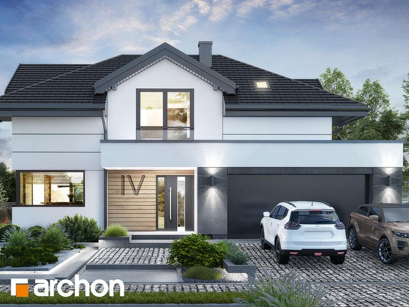 Проект будинку ARCHON+ Вілла Міранда 19 (Г2Е) Вид 1