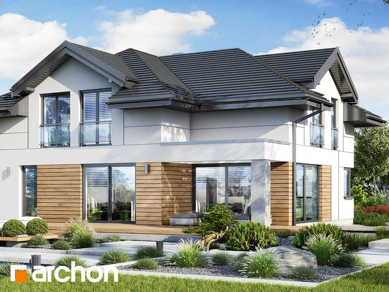 Проект будинку ARCHON+ Вілла Міранда 19 (Г2Е) Вид 2