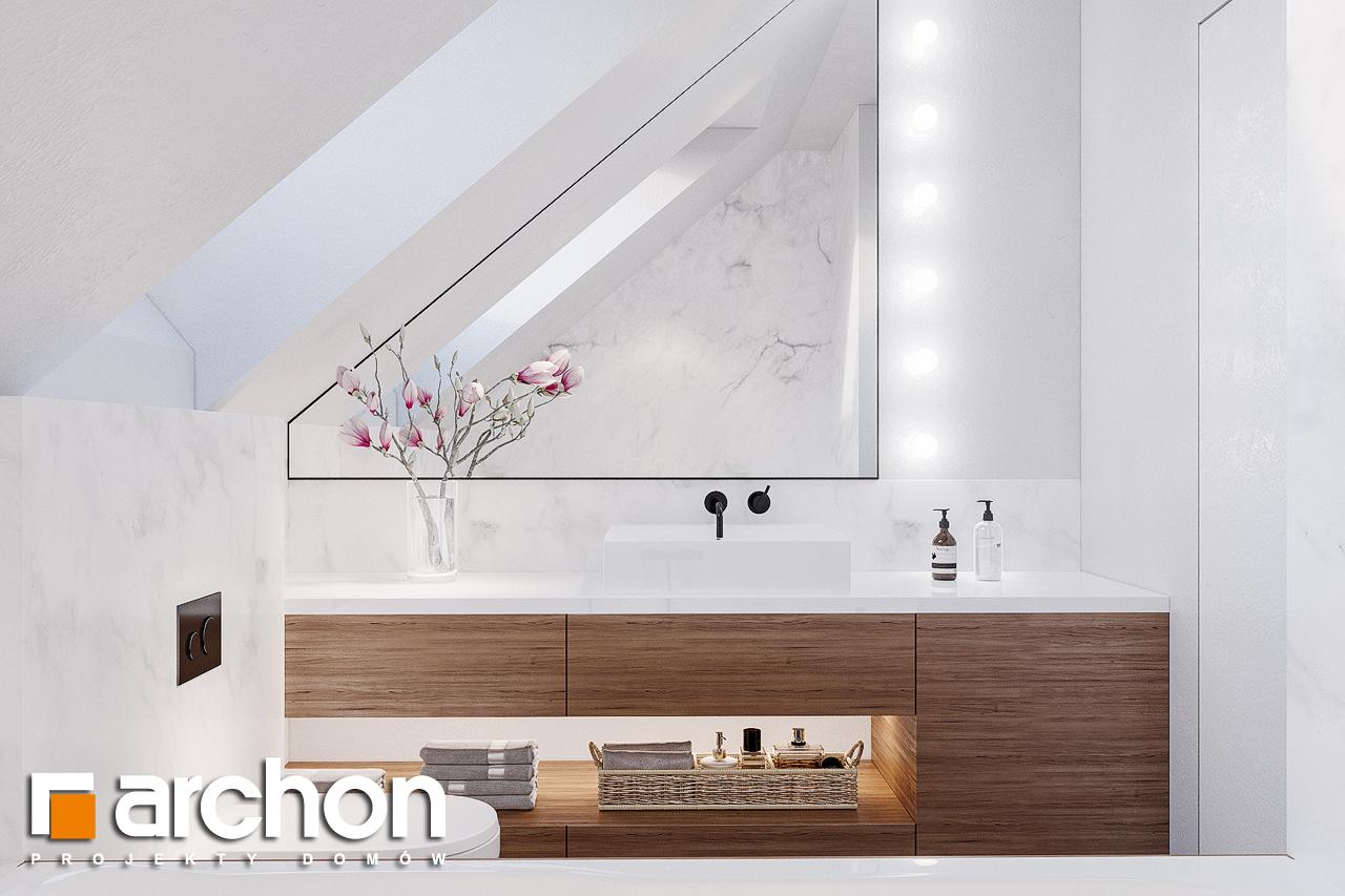 Проект будинку ARCHON+ Будинок в сон-траві 4 візуалізація ванни (візуалізація 3 від 1)