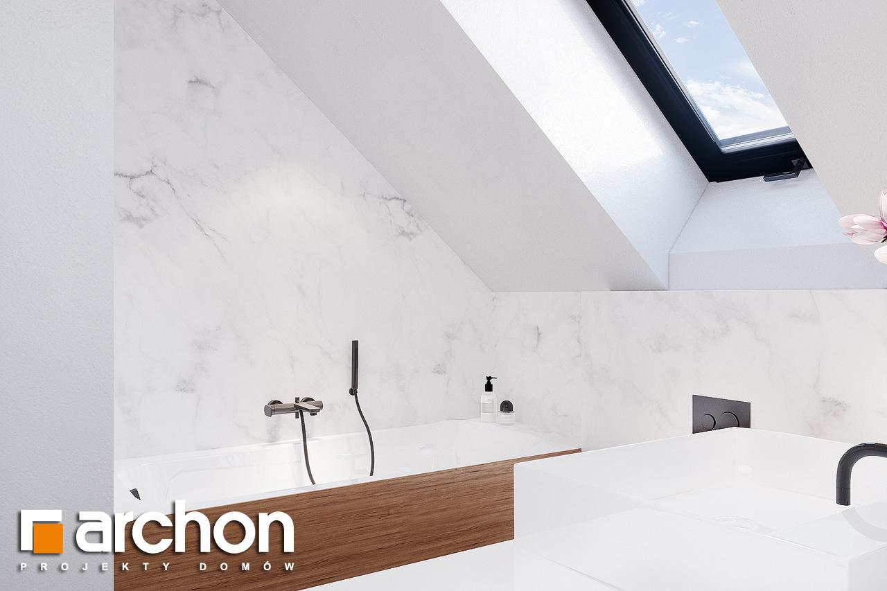 Проект будинку ARCHON+ Будинок в сон-траві 4 візуалізація ванни (візуалізація 3 від 2)