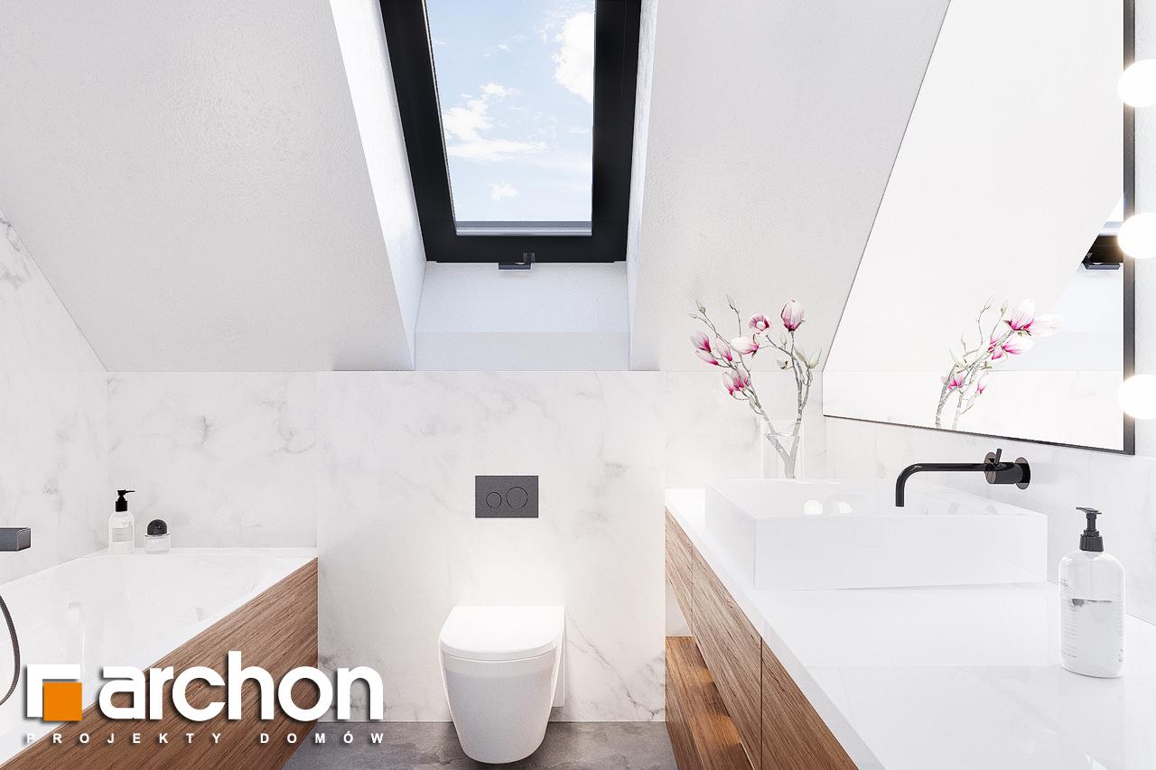 Проект будинку ARCHON+ Будинок в сон-траві 4 візуалізація ванни (візуалізація 3 від 3)