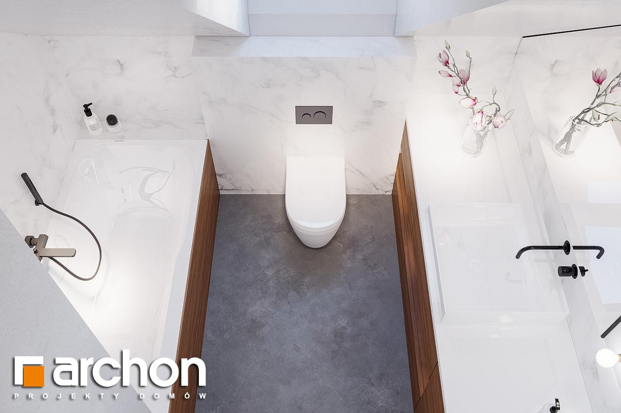 Проект будинку ARCHON+ Будинок в сон-траві 4 візуалізація ванни (візуалізація 3 від 4)