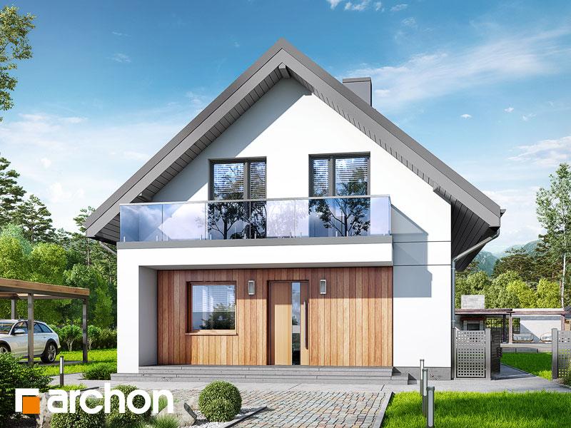 Проект будинку ARCHON+ Будинок в сон-траві 4 Вид 1
