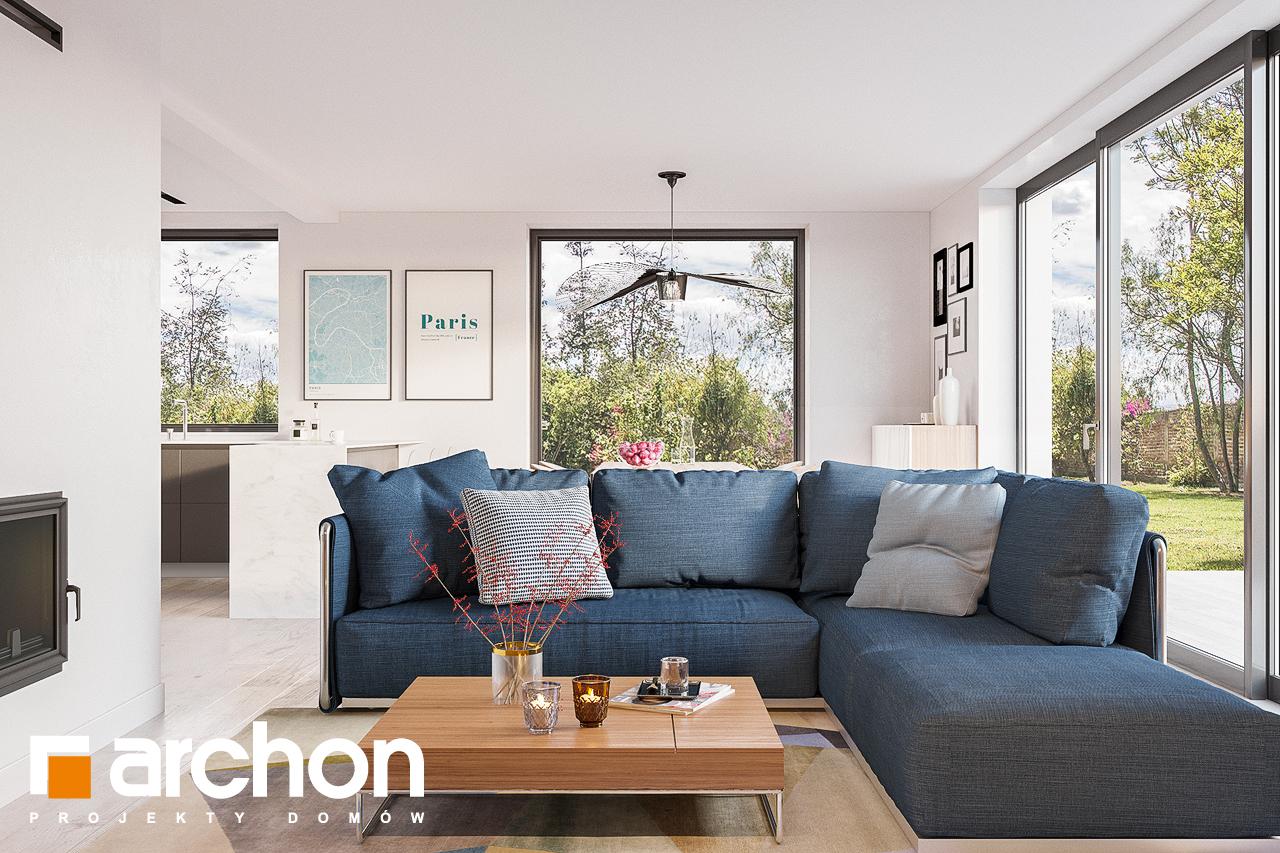 Проект будинку ARCHON+ Будинок в сон-траві 4 денна зона (візуалізація 1 від 1)