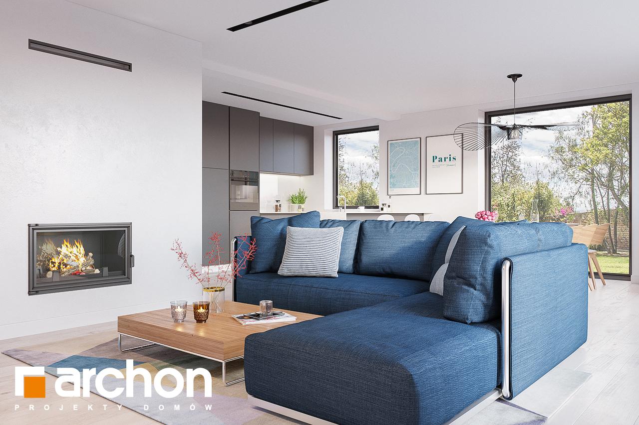 Проект будинку ARCHON+ Будинок в сон-траві 4 денна зона (візуалізація 1 від 2)