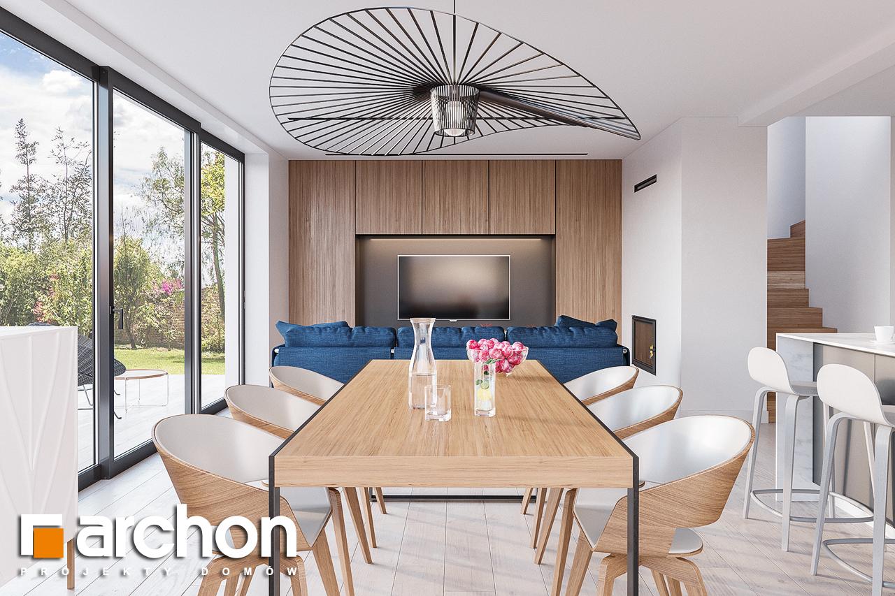 Проект будинку ARCHON+ Будинок в сон-траві 4 денна зона (візуалізація 1 від 4)