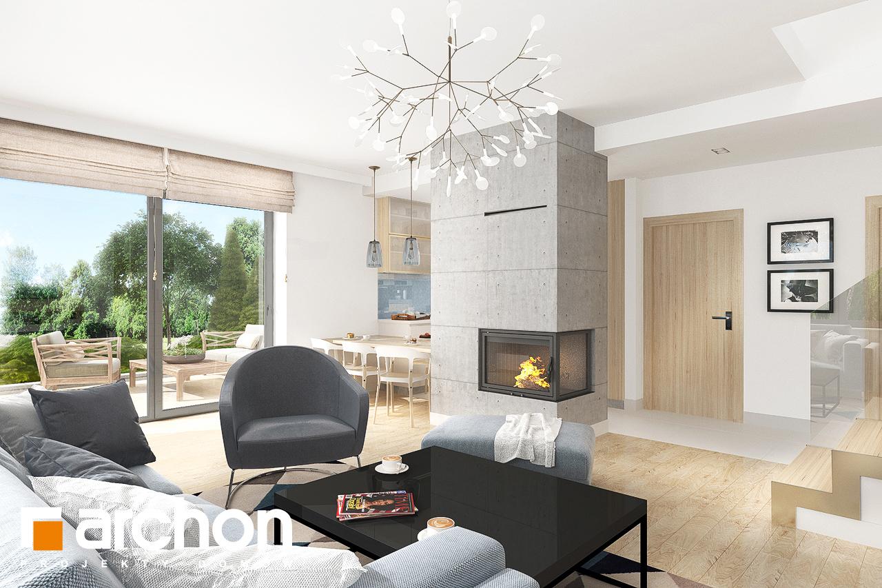 Проект будинку ARCHON+ Будинок в мирті 5 денна зона (візуалізація 1 від 1)